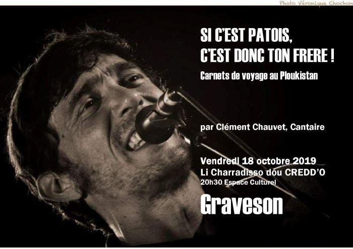 Conférence Clément Chauvet Graveson