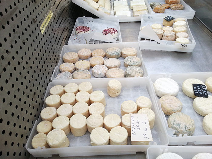 Fromages Marché Paysan Graveson en Provence