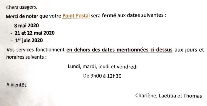 horaires-poste-covid-19