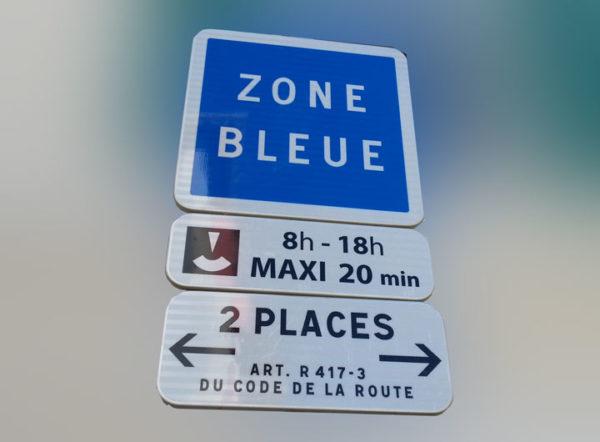 Stationnement Zone Bleue à Graveson