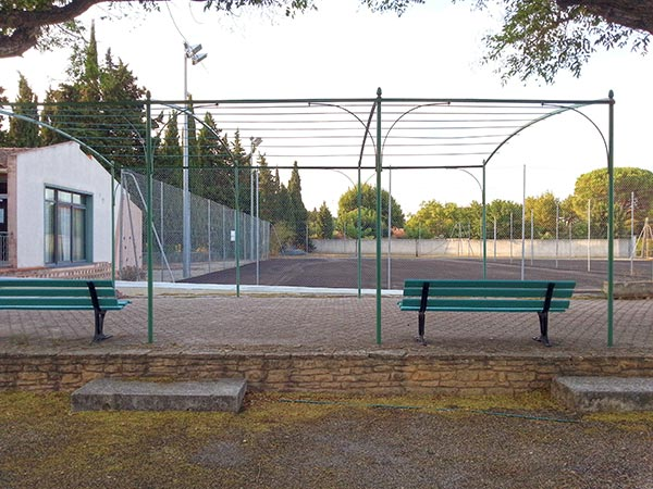 Travaux Tennis club de Graveson